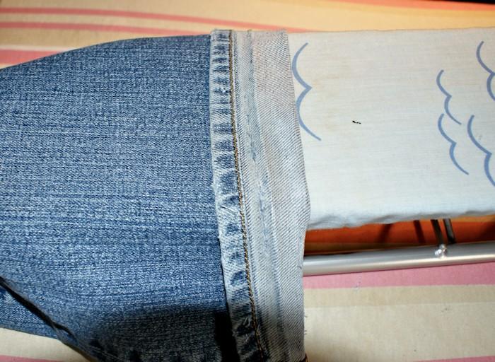 Comment coudre jean - Comment faire un ourlet de jean ...