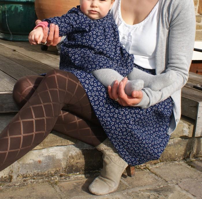 Ensemble Mademoiselle Burda Baby