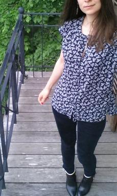 Me Made May 2016, blouse maya