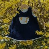 Robe chasuble Les Intemportels pour bébé - par Laissons Lucie Faire
