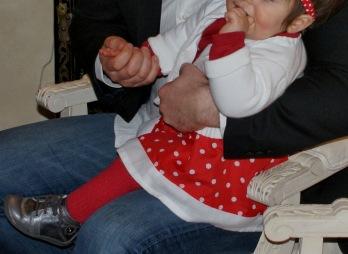 Cracotte de Noël - Déguisement pour fillette par Laissons Lucie Faire