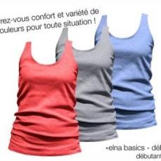 Débardeur Elna Basics - défi Je couds ma garde-robe capsule en 2017