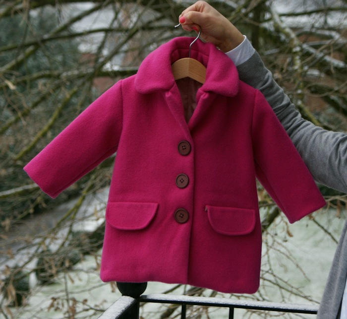 Manteau pour enfant Burda par Laissons Lucie Faire