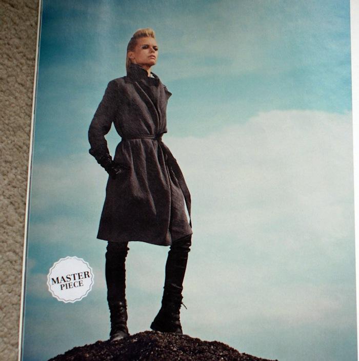 Manteau Burda - défi Je couds ma garde-robe capsule en 2017