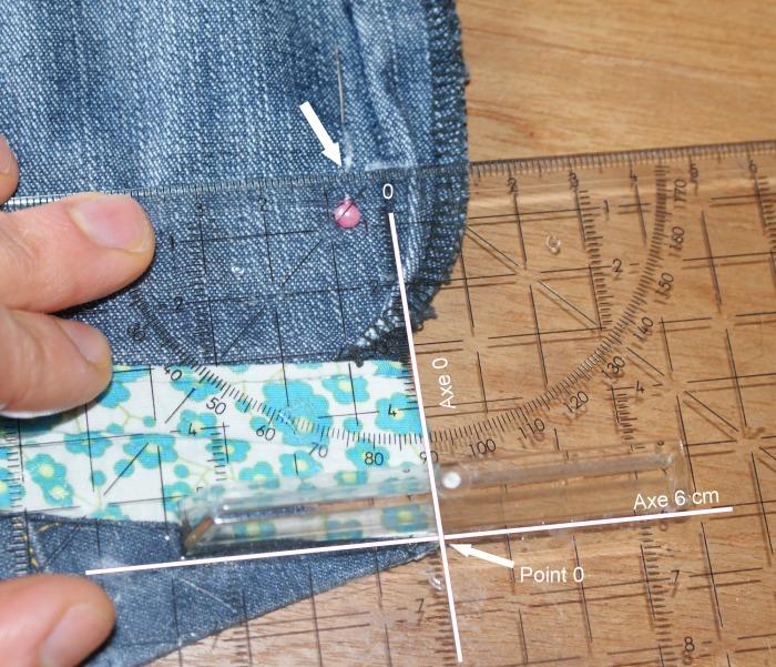 Tuto retoucher un pantalon : reprendre au milieu dos et aux côtés