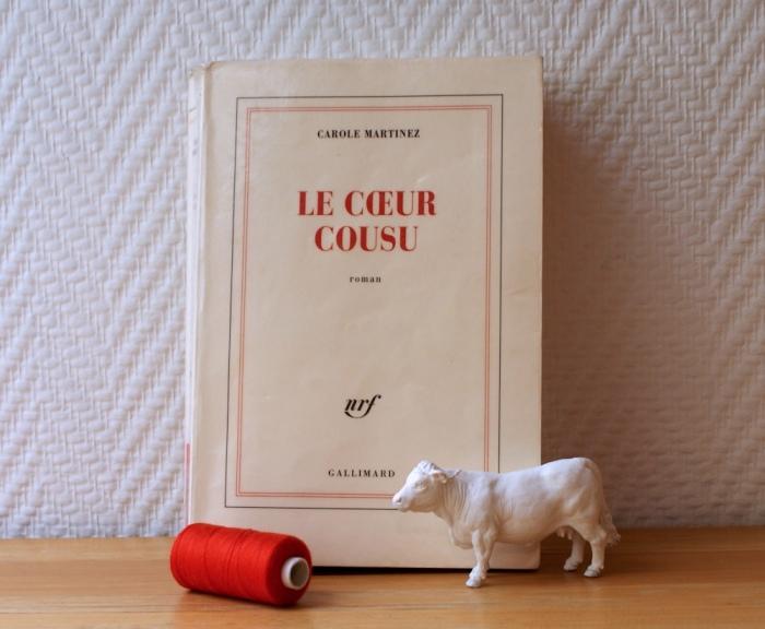 Trois livres qui parlent de couture, par Laissons Lucie Faire - Le cœur cousu, Carole Martinez