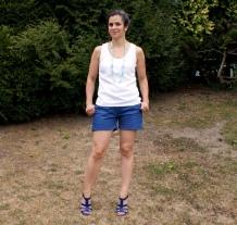 Short Scarlet La Maison Victor en jean par Laissons Lucie Faire