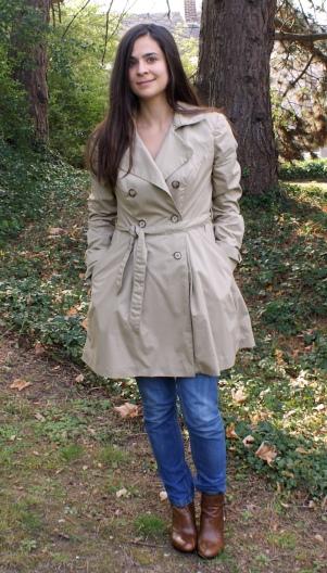 Trench-coat Luzerne Deer and Doe par Laissons Lucie Faire