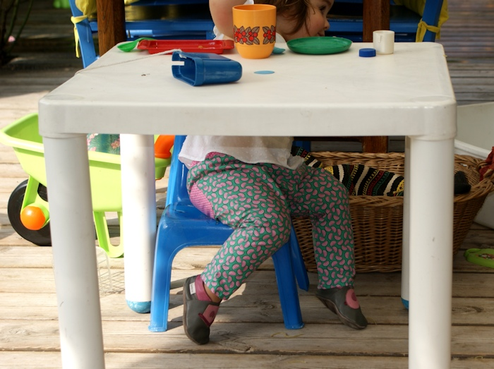 Couture enfant, pantalon burda par Laissons Lucie Faire