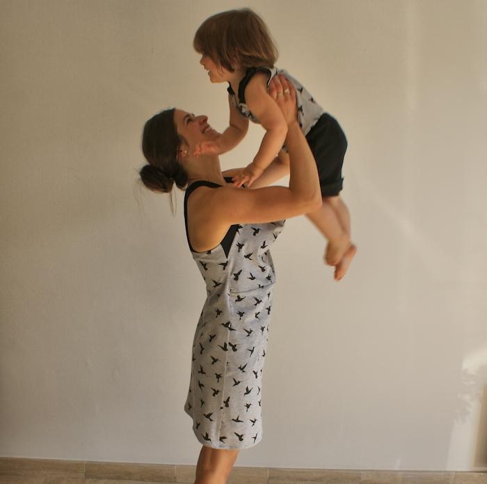 Nuisette Mia et pyjama Tia Les Cousettes par Laissons Lucie Faire