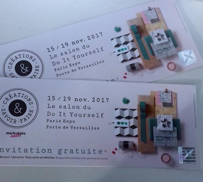 Concours Salon Création & Savoir-Faire 2017 par Laissons Lucie Faire