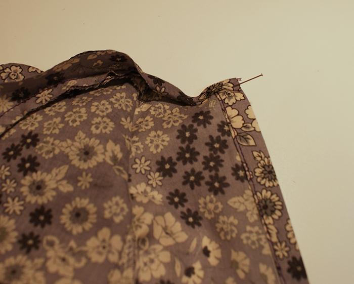 Tuto de blouse à col Claudine pour poupon Corolle de 30 cm par Laissons Lucie Faire