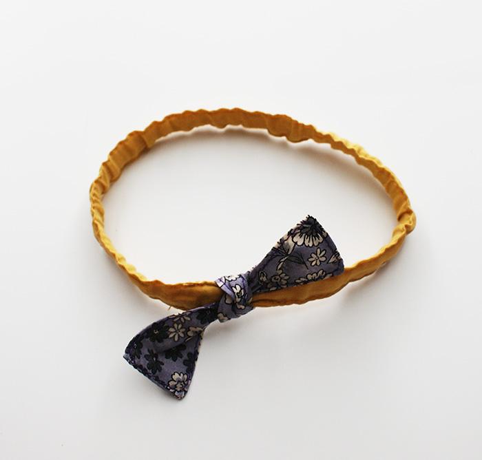 Headband pour poupon Corolle de 30 cm, tuto par Laissons Lucie Faire