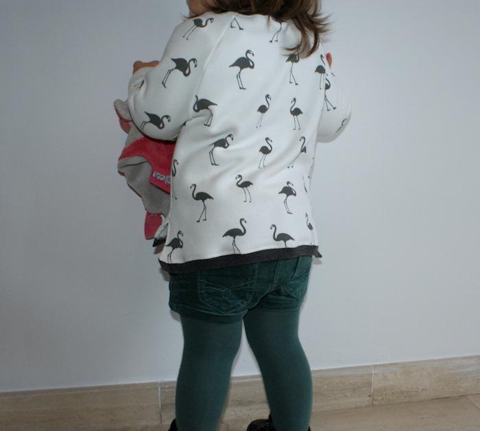 Sweat Leonora La Maison Victor flamingo par Laissons Lucie Faire