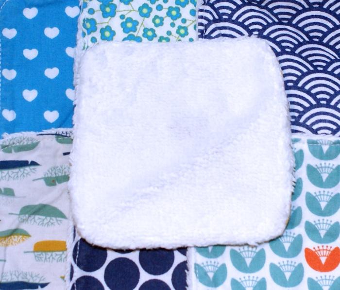 Lingettes démaquillantes lavables par Laissons Lucie Faire