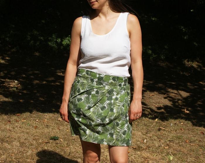 Jupe 1001 perles solaire par Laissons Lucie Faire
