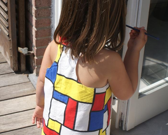 Robe Mondrian par Laissons Lucie Faire