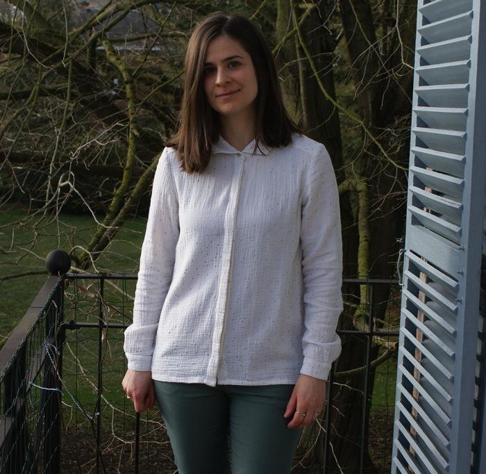 Chemise elisa La Maison Victor et slim Burda