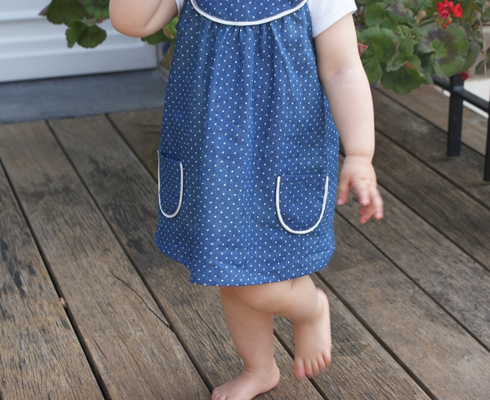 Robe Burda Kids par Laissons Lucie Faire