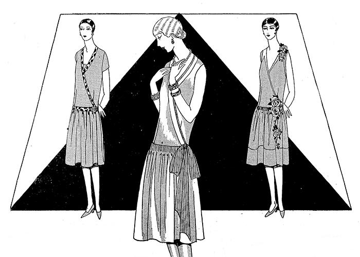 Robe années 20 - La Femme de France